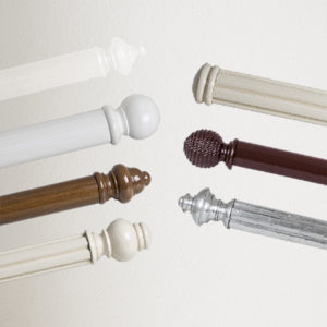 Custom Made Wooden Curtain Rods